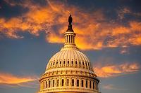 United States Capitol Building, Washington, DC USA