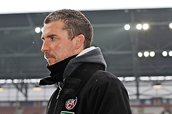 """28.01.2012, SGL Arena, Augsburg, GER, 1. FBL, FC Augsburg vs 1. FC Kaiserslautern, 19. Spieltag, im Bild Trainer Marco KURZ (Kaiserslautern), // during the football match of the german """"Bundesliga"""", 19th round, between FC Augsburg and 1. FC Kaiserslautern, at the SGL Arena, Augsburg, Germany on 2012/01/28. EXPA Pictures © 2012, PhotoCredit: EXPA/ Eibner/ Peter Fastl..***** ATTENTION - OUT OF GER *****"""