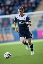Falkirk's Stephen Kingsley.<br /> Falkirk 2 v 1 Queen of the South, Scottish Championship 5/10/2013, played at The Falkirk Stadium.<br /> &copy;Michael Schofield.