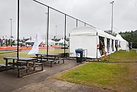 ROTTERDAM . Hockeyclub Rotterdam tijdens de Hockey World league. FOTO KOEN SUYK