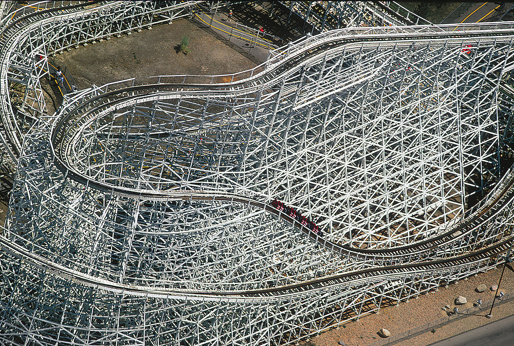 Roller coasters and amusement parks offer a momentary escape from everyday life.