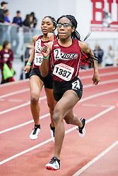 womens 400 meter, heat 13, Rider<br /> BU John Terrier Classic <br /> Indoor Track & Field Meet