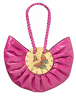 toast purse with butterfly accent