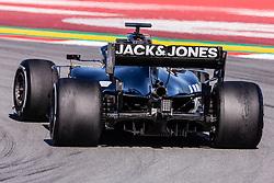 February 26, 2019 - Barcelona, Barcelona, Spain - Rich Energy Haas F1 Team  aerodinamic detail of rear difussor  during the Formula 1 2019 Pre-Season Tests at Circuit de Barcelona - Catalunya in Montmelo, Spain on February 26. (Credit Image: © AFP7 via ZUMA Wire)