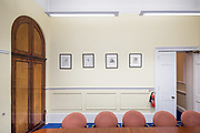 London, England, Uk, February 5 2019 - A meeting room at The Royal Institute for International Affairs, a Think Tank commonly known as Chatham House.