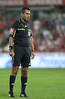 20110812: BARCELOS, PORTUGAL - Gil Vicente vs SL Benfica: Portuguese League 2011/2012, 1st round. In picture: Referee Joao Ferreira. PHOTO: Pedro Benavente/CITYFILES