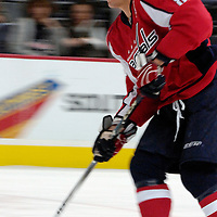 26 December 2007:  Washington Capitals left wing Alexander Ovechkin (8) skates during warm ups prior to the game against the Tampa Bay Lightning at the Verizon Center in Washington, D.C.  The Capitals defeated the Lightning 3-2.