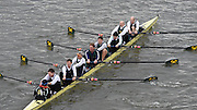 London, Great Britain.<br /> Master F Winner, Crabtree BC. 2016 Veterans&rsquo; Head of the River Race, Reverse Championship Course Mortlake to Putney. River Thames. Sunday  20/03/2016<br /> <br /> [Mandatory Credit: Peter SPURRIER;Intersport images]