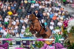 RAYSMONT Billy (AUS), Oaks Redwood<br /> Tryon - FEI World Equestrian Games™ 2018<br /> FEI World Individual Jumping Championship<br /> Third cometition - Round A<br /> 3. Qualifikation Einzelentscheidung 1. Runde<br /> 23. September 2018<br /> © www.sportfotos-lafrentz.de/Stefan Lafrentz