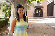 Samia Ghali (45), French politician, Marseilles <br /> <br /> Samia Ghali (45 ans) en tête du premier tour de la primaire PS à Marseille, est une enfant des quartiers Nord aux positions tranchées. Samia Ghali est la maire du 8ème secteur à Marseille (100.000 habitants), où la plupart des problèmes sont situés. Elle a toujours appelé à des mesures sévères contre le trafic de drogue dans les quartiers pauvres.  Ghali est d'origine algérienne et a grandi dans le quartier Bassens, au milieu d'une population composée à majorité de maghrébins et de gens du voyage. Conseillère d'arrondissement en 1995, conseillère régionale en 2004, elle conquiert la mairie des 15e et 16e arrondissements de Marseille. La même année, elle accède également au Sénat. Elle veut obtenir l'investiture socialiste pour défier le maire UMP Jean-Claude Gaudin aux municipales de 2014.