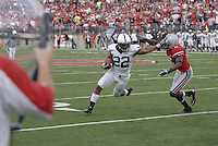 Penn State running back Evan Royster in the Ohio State vs Penn State game on Nov. 13, 2010 at Ohio Stadium in Columbus, Ohio.