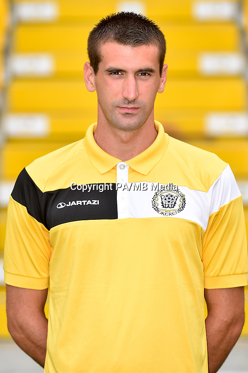 20150626 - LOKEREN, BELGIUM: Lokeren's Ivan Boras pictured during the 2015-2016 season photo shoot of Belgian first league soccer team Sporting Lokeren, Friday 26 June 2015 in Lokeren. BELGA PHOTO LUC CLAESSEN