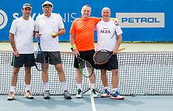 Petrol recreational tenis tournament during ATP Challenger Zavarovalnica Sava Slovenia Open 2017, on August 12, 2017 in Sports centre, Portoroz/Portorose, Slovenia. Photo by Vid Ponikvar / Sportida