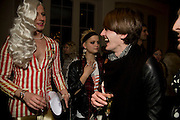 JOHNNY WOO; PIXIE GELDOF; GARETH PUGH. Kate Grand hosts a Love Tea and Treasure hunt at Flash. Royal Academy. Burlington Gardens. London. 10 december 2008 *** Local Caption *** -DO NOT ARCHIVE-© Copyright Photograph by Dafydd Jones. 248 Clapham Rd. London SW9 0PZ. Tel 0207 820 0771. www.dafjones.com.<br /> JOHNNY WOO; PIXIE GELDOF; GARETH PUGH. Kate Grand hosts a Love Tea and Treasure hunt at Flash. Royal Academy. Burlington Gardens. London. 10 december 2008