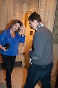 NATASHA KAPLINSKY; JUSTIN BOWER, KOOZA, CIRQUE DU SOLEIL  Royal Albert Hall Kensington Gore London. 8 January 2012.