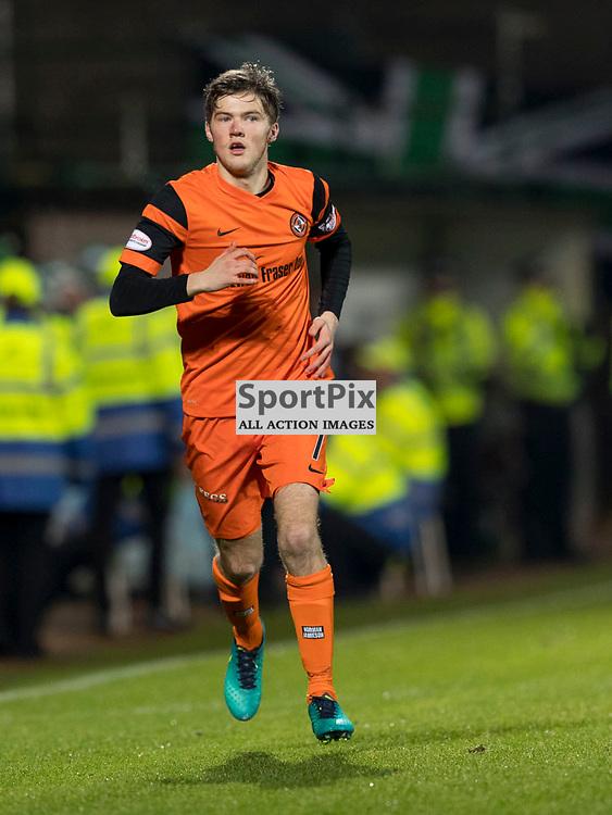 Dundee Utd v Hibernian   SPFL season 2016-2017  <br /> <br /> Blair Spittal (Dundee Utd) during the Ladbrokes Championship match between Dundee Utd &amp; Hibernian at Tannadice Park Stadium on Friday 2 December 2016<br /> <br /> Picture: Alan Rennie