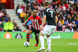 Mario Lemina of Southampton is marked by Johann Gudmundsson of Burnley - Mandatory by-line: Ryan Hiscott/JMP - 12/08/2018 - FOOTBALL - St Mary's Stadium - Southampton, England - Southampton v Burnley - Premier League