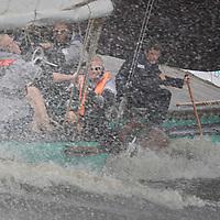 SKS Skûtsjesilen op Heegermeer bij Woudsend