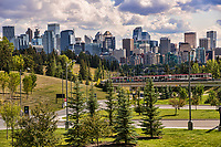 Calgary Transit (CTrain) & Downtown Calgary
