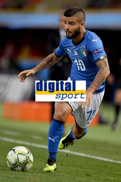 Lorenzo Insigne Italy.<br /> Bologna 07-09-2018 <br /> Football Calcio Uefa Nations League <br /> Italia - Polonia / Italy - Poland <br /> Foto Andrea Staccioli / Insidefoto