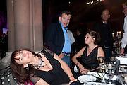 Anita Zabludowicz; Poju  Zabludowicz; Tracey Emin. Amanda Eliasch birthday dinner. North Audley st. London. 12 May 2010. -DO NOT ARCHIVE-© Copyright Photograph by Dafydd Jones. 248 Clapham Rd. London SW9 0PZ. Tel 0207 820 0771. www.dafjones.com.