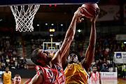 Eboua Paul<br /> Openjobmetis Varese - Carpegna Prosciutto Basket Pesaro<br /> Basket Serie A LBA 2019/2020<br /> Varese 15 December 2019<br /> Foto Mattia Ozbot / Ciamillo-Castoria