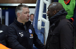 Peterborough United Manager Darren Ferguson and Southend United manager Sol Campbell - Mandatory by-line: Joe Dent/JMP - 11/02/2020 - FOOTBALL - Weston Homes Stadium - Peterborough, England - Peterborough United v Southend United - Sky Bet League One