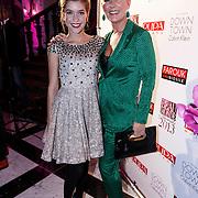 NLD/Amsterdam/20131111 - Beau Monde Awards 2013, Saskia Noort en dochter Julia Schellekens