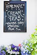 Homemade Cream Teas chalkboard