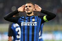 24.10.2017 - Milano - Serie A 2017/18 - 10a giornata  -  Inter-Sampdoria nella  foto: Mauro Icardi esulta dopo il gol