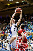 21 November 2009: Duke Senior guard #30 John Scheyer drives to the hoop for a score..Duke Rolls Past Radford 104-67 .Mandatory Credit: Mark Abbott / Southcreek Global