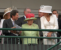 Queen Elizabeth vivitied the 133rd Kentucky Derby