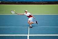 Joseph Duque. Idaho High School State Tennis Championships on May 20, 2017 at Boise State University's Appleton Tennis Complex, Boise, Idaho. <br /> <br /> Boise's doubles team of Eric Lim and Nicholas Byrne defeated Madison's team of Joseph Duque and Mitch Blanchard, 6-4, 6-0 to win the 5A boys doubles title.