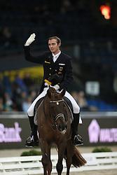 Rothenberger Sonke, (GER), Favourit<br /> Grand Prix Dressage<br /> Stuttgart - German Masters 2015<br /> © Hippo Foto - Stefan Lafrentz