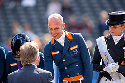 GAL Edward (NED)<br /> Rotterdam - Europameisterschaft Dressur, Springen und Para-Dressur 2019<br /> Siegerehrung Team Wertung<br /> Longines FEI European Championships Dressage Grand Prix - Teams (2nd group)<br /> Teamwertung 2. Gruppe<br /> 20. August 2019<br /> © www.sportfotos-lafrentz.de/Stefan Lafrentz