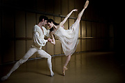 Amber Scott Principal Dancer with Australian Ballet with Andrew
