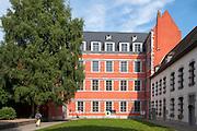 Ehem. Pfandhaus von Cobeger, 17. Jh., Mons, Hennegau, Wallonie, Belgien, Europa | pawn shop, 17th century, Mons, Hennegau, Wallonie, Belgium, Europe