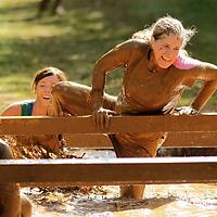 UK ROTC mud run in Lexington, Ky., on Saturday, September 22, 2012. Photo by David Stephenson