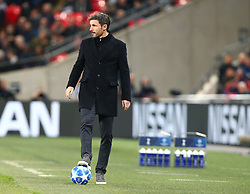 November 6, 2018 - London, England, United Kingdom - London, England - November 06, 2018.Mark van Bommel manager of PSV Eindhoven.during Champion League Group B between Tottenham Hotspur and PSV Eindhoven at Wembley stadium , London, England on 06 Nov 2018. (Credit Image: © Action Foto Sport/NurPhoto via ZUMA Press)