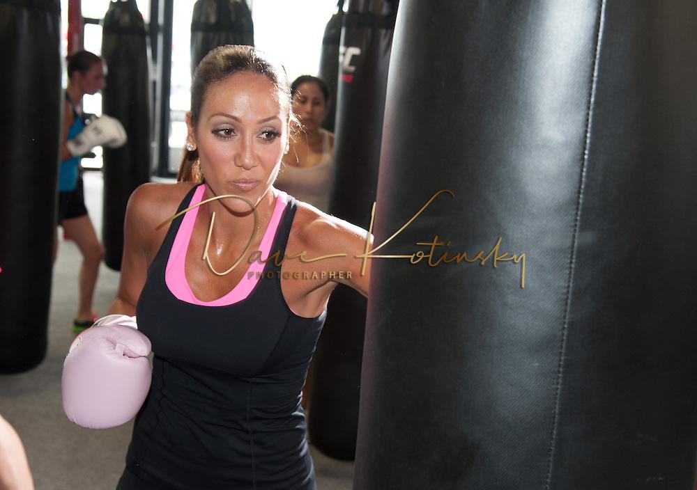 Melissa Gorga @ UFC Gym