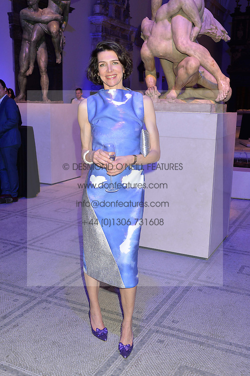 THOMASINA MIERS at a private view of Alexander McQueen's Savage Beauty exhibition hosted by Samsung BlueHouse at the V&A, London on 30th March 2015.