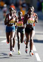 Women's elite race<br /> The Virgin Money London Marathon 2014<br /> 13 April 2014<br /> Photo: Jed Leicester/Virgin Money London Marathon<br /> media@london-marathon.co.uk