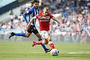 Andreas Weimann of Bristol City during the EFL Sky Bet Championship match between Sheffield Wednesday and Bristol City at Hillsborough, Sheffield, England on 22 April 2019.