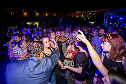 Rado Mulej at the concert of a charity project - Gibaj, mladina! before ATP Challenger Zavarovalnica Sava Slovenia Open 2018, on August 3, 2018 in Sports centre, Portoroz/Portorose, Slovenia. Photo by Urban Urbanc / Sportida