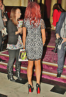 LONDON - November 14: Amy Childs at Children in Need POP goes the Musical: Shrek The Musical (Photo by Brett D. Cove)