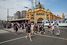 2013 Melbourne Weekend to End Women's Cancer Day 1