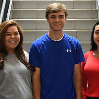 ICC RESIDENT ASSISTANTS<br /> (Courtesy Photo)<br /> Resident assistants at Itawamba Community College for 2016-17 include from left, Stephanie Hernandez, Sam Moore and Michelle Vazquez, all of Houston. Resident Assistants, commonly shortened to RA, are trained peer leader who supervises those living in a residence hall and who lead by example.