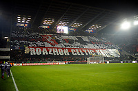 FOOTBALL - FRENCH CHAMPIONSHIP 2011/2012 - L1 - STADE RENNAIS v OLYMPIQUE MARSEILLE - 29/01/2012 - PHOTO PASCAL ALLEE / DPPI - RENNES FANS