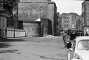 Bomb Damage, Green St. Court.15/07/1976.07/15/1976.15th July 1976  .At the Special Criminal Court, Little Green Street, two bombs exploded causing extensive damage to the building. Four prisoners escaped, three of whom were subsequently re-captured.