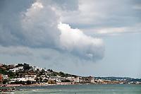 Salento - Puglia - Marina di Pescoluse - Sullo sfondo la torre nel porto vecchio di Torre Vado.